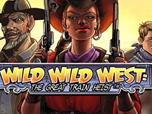 Wild Wild West: The Great Train Heist азартная онлайн игра от Netent